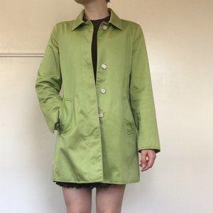 Green Coach Trench Coat